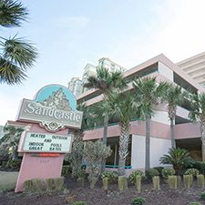 $249 | Sandcastle Resort South | Spring Break Myrtle Beach Vacation | Studio Suite | 6 day 5 night | Discount Hotel Rate