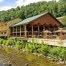 $199 | River Terrace Resort | 4th of July Gatlinburg Vacation | Deluxe Hotel Room | 4 day 3 night | 2 Dixie Stampede Tickets