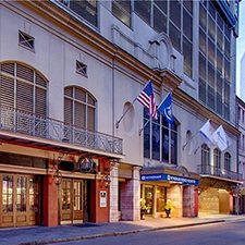 $199 | Wyndham French Quarter | Valentine's Day New Orleans Vacation | Standard/Deluxe Hotel Room | 3 Day 2 Night | $100 Dining Dough