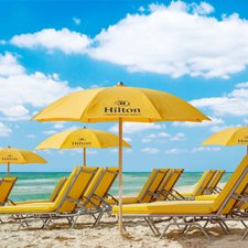 $199 | Hilton Cabana Miami Beach | Fall Miami Vacation | Deluxe Hotel Room | 3 Days 2 Nights | $100 Dining Dough