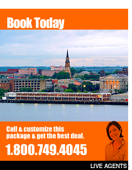 Rooms101.com has the best rates for Historic Downtown Charleston South Carolina Last Minute Vacation Plans