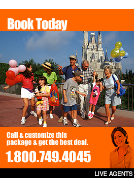 We have discount Orlando vacations and affordable Kissimmee Florida Disney World area vacation packages. We offer a choice of discount priced resorts and complimentary attractions tickets!