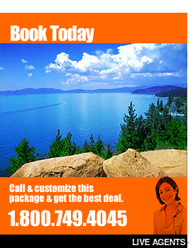 Rooms101.com has the best rates for Lake Tahoe, CA Vacations and Resort Vacation Deals